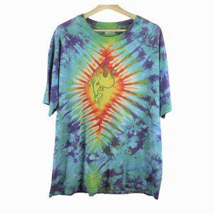A25 Vintage Hanes Tie Dye Shirt Single Stitch USA